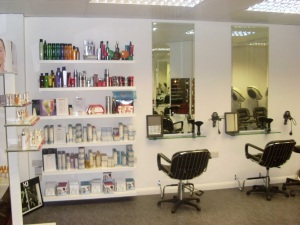 Inside Wickham Studio, hairdressers