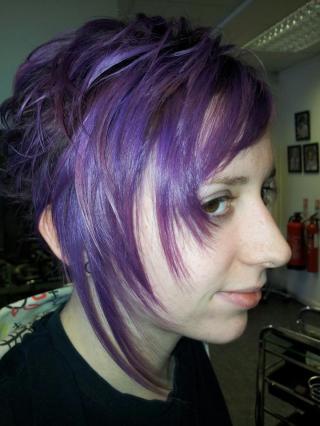 Strikingly dramatic cut, by Faye