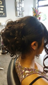 Updo by Wickham Studio